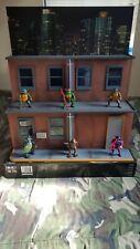 New ListingStreet Scene Teenage Mutant Ninja Turtles Action Figure Diorama (6 Figures) Neca
