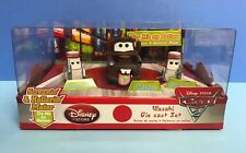 CARS 2 Screamin Hollerin Mater Sushi Chef Wasabi Pixar Disney Store EXCLUSIVE