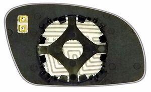 VOLKSWAGEN Beetle 1998 99 00 01 2005 SPHERICAL HEATED 12V MIRROR Car GLASS Left