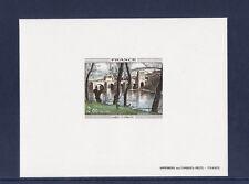 épreuve de luxe timbre France   tableau  Corot    1977  num: 1923