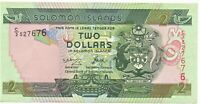 Solomon Islands No Date Banknote 2 Dollars As Pictured UNC