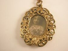 -Portrait Picture Frame Vintage Key Chain ring