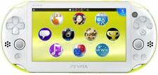 PlayStation Vita Wi-Fi Model Lime Green / White (2000ZA13) 【end of production】