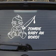 Auto Aufkleber ZOMBIE BABY an Bord on Tour LUSTIG Junge Boy Kids Sticker 1121
