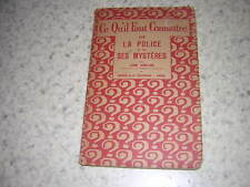 1926.ce qu'il faut connaitre de la  police et ses mystères / Ameline