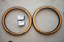 Schwalbe Kojak Tanwall 32-349 Tire Pair with Brompton Schrader Inner Tube Chpt3