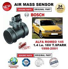 Para Alfa Romeo 145 1.4 es decir 16V T.S 1998-2001 sensor de masa de aire 5 Pin Con Carcasa