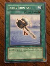 Lucky Iron Axe FOTB-EN037 RARE YuGiOh! Spell FORCE OF THE BREAKER 1st Ed NEW x1