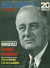 Revue militaire Historia Roosevelt devient no 142 1970 2ème guerre mondiale