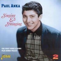 PAUL ANKA singing & swinging (2X CD, album, compilation) best of, greatest hits,