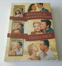 """Rodgers & Hammerstein State Fair / Carousel / South Pacific DVD BOX SET  """"NEW"""""""