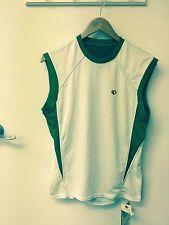 Pearl Izumi Men Athletic Sleeveless jersey Bamboo fabric size small brand new