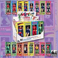 DC Comics Retro Style Boxed 8 Inch Action Figures: Set of all 16 Figures And Box