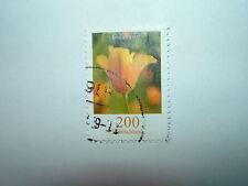 2005 GERMANY 200c ESCHSCHOLZIA CALIFORNICA FLOWERS VFU (sg3320c) CV £6.50