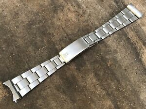 Rolex Daytona Date Air-King 7835 Folded Link Bracelet 357 Endlinks ORIGINAL