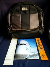 Lufthansa Commemorative Airbus A380 Backpack Rucksack & Magazine Stickers NEW