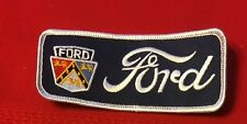 Ford with auto emblem patch 1-3/4 X 4-1/2 #5046