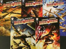 BATTLER BRITTON 1-5.  (FULL SET 5 ISSUE  LOT). WILDSTORM. GARTH ENNIS. HIGH GR.