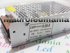 Trasformatore Alimentatore Arduino 220V 5V 50W 10A Stabilizzato per strisce led