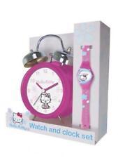 Coffret montre + réveil HELLO KITTY NEUF