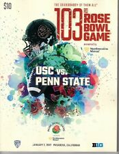 2017 ROSE BOWL PROGRAM USC TROJANS CHAMPIONS! PENN STATE NITTANY LIONS SHIP NOW