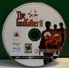 The Godfather II (Sony PlayStation 3, 2009) DISC ONLY 13334