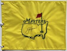 JACK NICKLAUS SIGNED MASTERS UNDATED GOLF FLAG PSA/DNA LOA