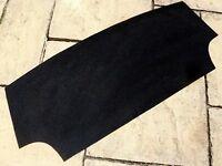 TRIUMPH SPITFIRE MK1-MK2-MK3-MK4-1500 NEW BLACK BOOT CARPET @ £15.00