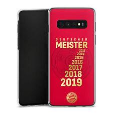Samsung Galaxy S10 Plus Handyhülle Case Hülle - 7X MEISTER FC Bayern München