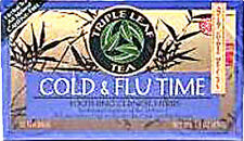 Cold & Flu Time Tea, Triple Leaf, 20 tea bag 1 Box