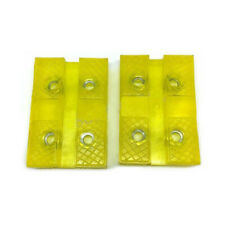 4PCS Rectangle Rubber Lift Arm Pad/ Metal Inserts Fit Auto Lifter Repairs Car