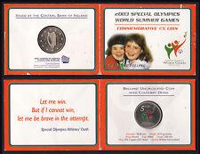 2003 - 5 euro IRLANDA Giochi Paraolimpici - 5 euro IRELAND Paralympic Games