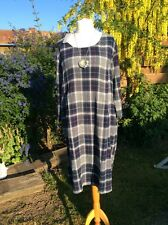 BNWT Sahara Summer Light Checked Dress -size Large