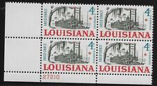 US Scott #1197, Plate Block #27210 1962 Louisiana 4c FVF MNH Lower Left