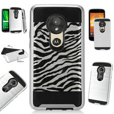 METAGUARD For Motorola Moto E5 G6 Play/Cruise/Plus/Supra Hybrid Case Cover D4