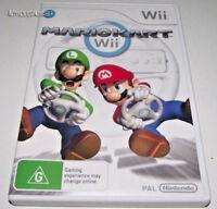Mario Kart Nintendo Wii PAL *No Manual* Wii U Compatible