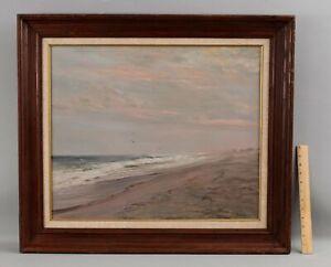 Original ROBERT HAMBLEN American Seascape Oil Painting Hamptons Long Island NY