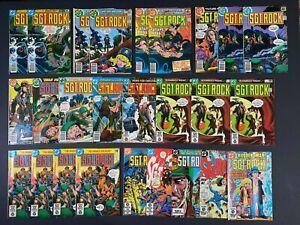 LAST ONES Lot of (26) Sgt. Rock (1978-84) #314-396 DC Comics More Listed