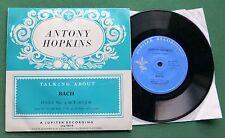 "Antony Hopkins Talking About Bach Fugue No 9 in E Major JEP 0C19 7"" EP"