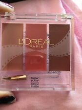 L'Oreal Trilogy by Colour Riche - SNEAK PREVIEW NEW SEALED (NEUTRAL-PINK)