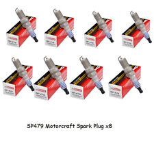 Set of 8 OEM FORD Motorcraft SP479 Spark Plugs AGSF22WM Platinum 4.6L 5.4L V8