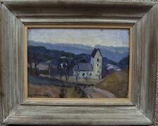 Carl Oscar Larsson 1887 - 1962, Las Iglesia de Degeberga, para 1950