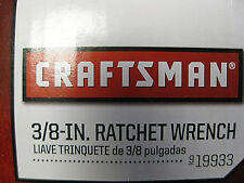 "New Craftsman 3/8"" Ratchet Wrench - Free Shipping"