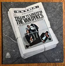 "rare soul LP ~ VAN DYKES on BELL ""Tellin' It Like It Is"" orig '67 mono EXCELLENT"