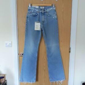 Acne Studios Lightwash Flared Jeans