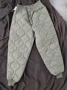 US Flyers CWU-9/P Quilted Liner MILITARY Trousers Size Large