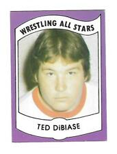 1982 Wrestling All Stars Series A Set Break #4 Ted DiBiase