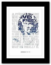 More details for jim morrison ❤ typography quote poster art limited edition print the doors #6