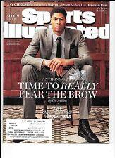 Anthony Davis Pelicans basketball Sports Illustrated Dec. 8, 2014