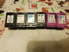 Hp 301,302 empty ink cartridges x6